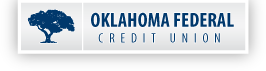 OKFCU logo/alternate home button