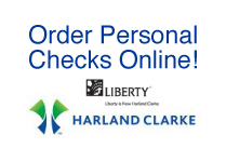 Harland clarke personal check ordering logo