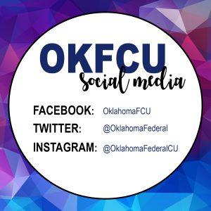 OKFCU social media handles