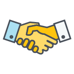 Shaking Hands Color Icon