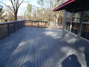 Angle of deck from opposite side