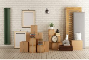 Boxes stacked on top of eachother