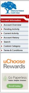 Step four of signing up for uChoose